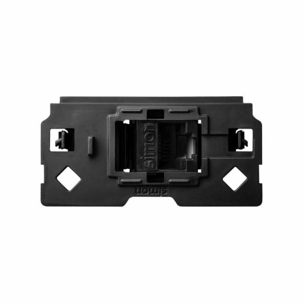 SIMON | 10000001-039 | PIEZA ADAPTADORA PARA CONECTORES INFORMÁTICOS RJ45 COMPATIBLE CON KEYSTONE® Y SYSTIMAX® SIMON 100