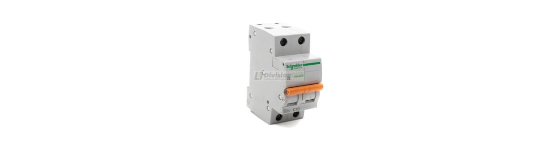 Interruptores magnetotérmicos