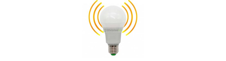 Bombillas LED con detector de presencia