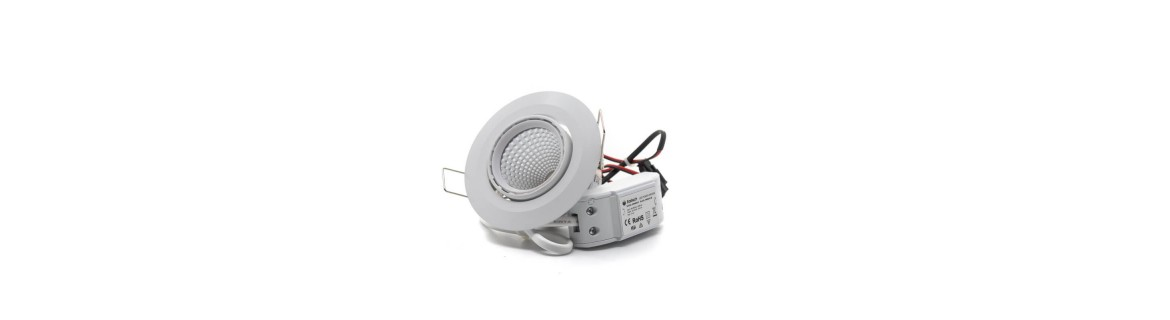 Downlight LED empotrables