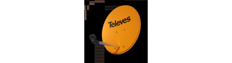 Antenas satélite Parabólicas - Telecomunicaciones - DivisionLED