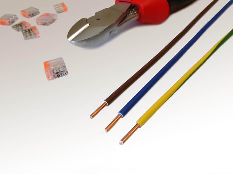 DivisionLED. Diferencia entre cable normal y libre de halógenos
